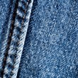 Denim abstract background - Stock Photo