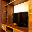 Royalty-Free Stock Photo: TV and wardrobes