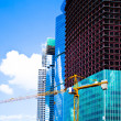 Unfinished skyscrapers business center M — Stock Photo #1288470