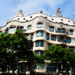 View to Casa Mila (Mila house) by Antoni — Stock Photo