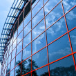 New business center windows — Stock Photo
