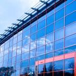 New business center windows — Stock Photo