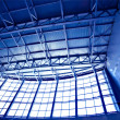 Stockfoto: Wide blue ceiling