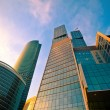 Modern skyscrapers in business centre in — Stock Photo #1289511