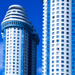 Blue skyscrapers towers — Stock Photo #1289865