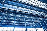 Plafond bleu abstrait — Photo