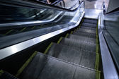 Moving escalator without — Foto Stock