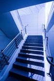 Empty staircase in office — Stock Photo