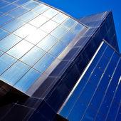 Modern blue office — Stock Photo