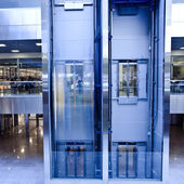 Lifts in office — Foto Stock