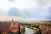 Verona city landscape — Stock Photo