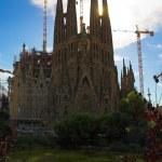 Sagrada familia by Antoni Gaudi — Stock Photo