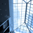 Stock Photo: Blue ceiling in office