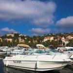 Boats near the beach — Stock Photo #1327973