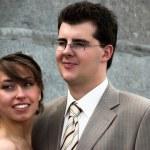 Bride and groom portraits — Stock Photo #1328098
