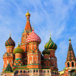St. Basil's Cathedral on Red square — Stock Photo
