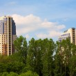 Moscow buildings — Stock Photo