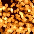 Gold spots bokeh — Stock Photo