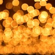 Royalty-Free Stock Photo: Gold spots bokeh