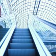 Escalator in shopping center, Moscow — Foto Stock
