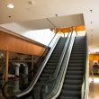 Stock Photo: Two escalators in shopping mall