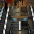 Escalators and stairs — Stock Photo