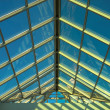 Blue ceiling in the office — Stock Photo #1328926