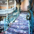 Stairway in hotel and lobby — Stock Photo