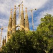 Stock Photo: Sagradfamiliin Barcelona