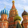 Stock Photo: St. Basil's Cathedral on Red square