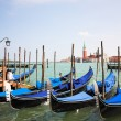 Venice - Italy, Gondolas - Stock Photo