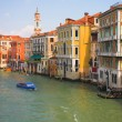 Venice grand channel — Stock fotografie