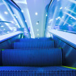 Fast moving escalator — Stock Photo #1329846