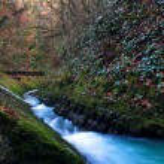 Waterfall with the bridge 2 — Stock Photo #1329880