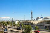 Funicular in Barcelona — Stock Photo