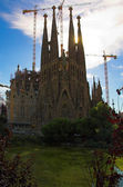 Sagrada familia by Antoni Gaudi — Stock Photo