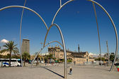 Barcelona arc — Stock Photo