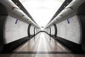 Modern subway station — Stock Photo