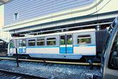Fast train in Metro — Stock Photo