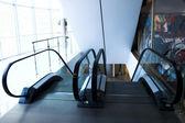 Two escalators in shopping mall — Stock Photo