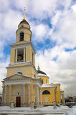 Christian church in Moscow — Stock Photo