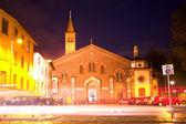 Sant Eustorgio church in Milan — Stock Photo