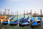 Venice - Italy, Gondolas — Stock Photo