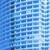 Abstract crop of skyscraper — Stock Photo