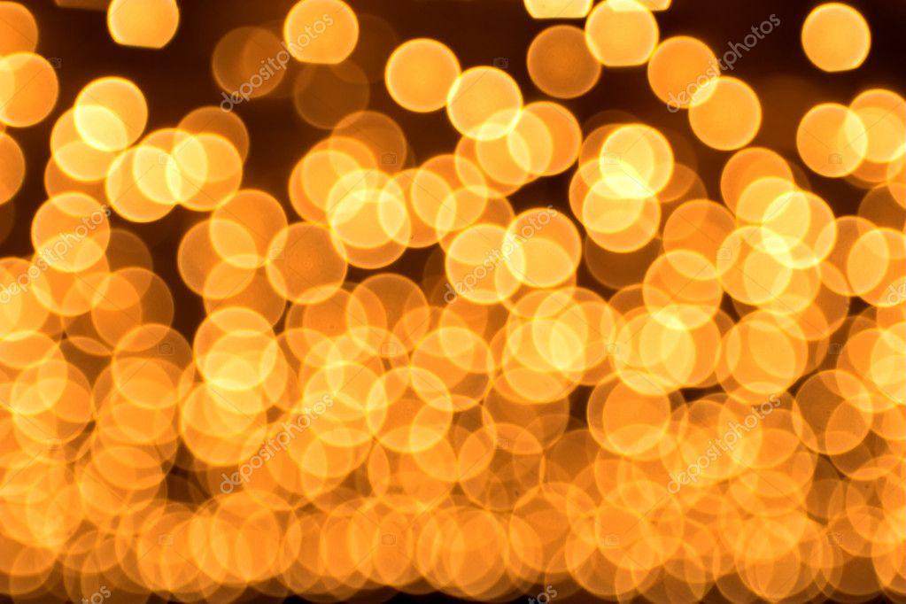 Gold spots bokeh background — Stock Photo #1328235