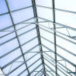 Foto de Stock  : Blue protection ceiling inside office
