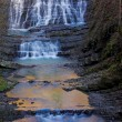 Stock Photo: Long cascade