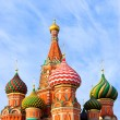 St. Basil's Cathedral on Red square — Lizenzfreies Foto