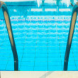 Swimming pool enter — Stock Photo #1330304