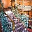 Stairway in hotel and lobby - Zdjcie stockowe